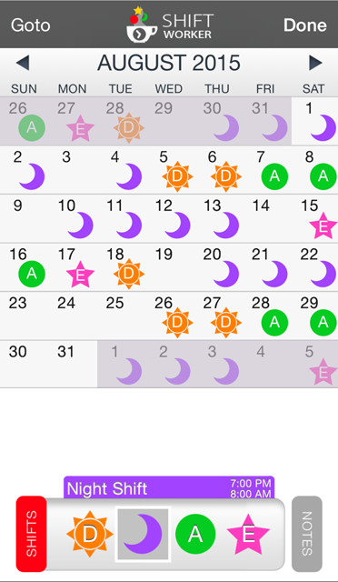how to use birthday calendar on iphone 4